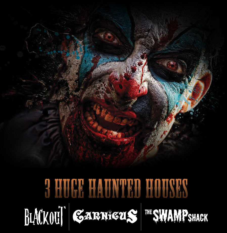 Blind Scream - 3 HUGE HAUNTED HOUSES